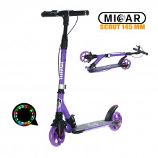 Самокат Micar Scout 145 мм Фиолетовый