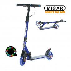 Самокат Micar Scout 145 мм Синий