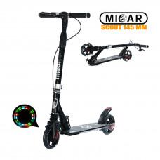 Самокат Micar Scout 145 мм Чёрный