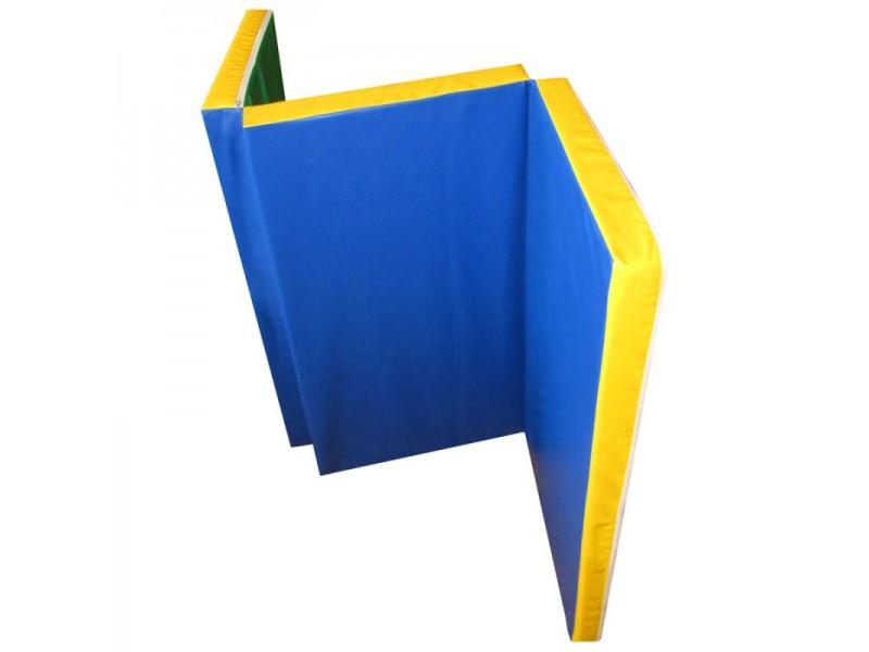 Мат гимнастический 1,5х1,0х0,06 метра складной